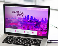 Adobe XD Daily Design Challenge Day 2 - Visit KCMO