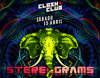 Stereograms @ Clash Club