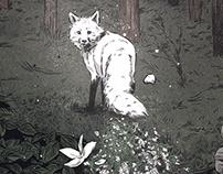 The White Fox, for Popshot Magazine