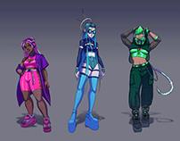 Character Design and Concept Art Portfolio