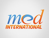 MED Internatıonal Logo Design