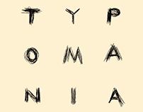 TYPOMANIA 2017 animated logotype video