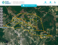 UI & CODING: Map tool for public registration & comment