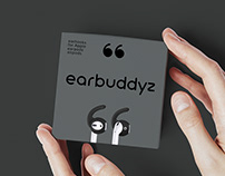 Package design and identity for AirPods ear hooks