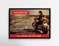 Poster design - moto party