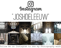 Follow me on 'Instagram' to see my photography work.