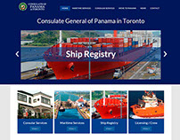 Sitio web de Consulado General de Panamá en Toronto