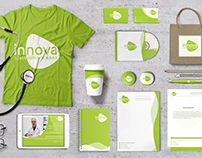 "Logo Redesign & Branding  ""INNOVA"" Medical Center"