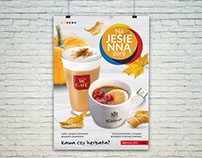 Autumn campaign for Inmedio Cafe restaurant chain