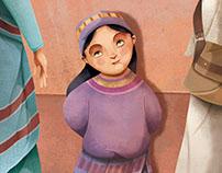 La niña amaziga, la história de la veritable Ventafocs.