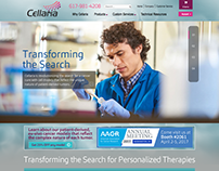 Cellaria Website Design