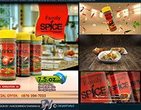 Family spice advertising campaign