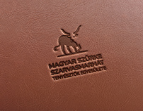 Szürke Szarvasmarha logó terv