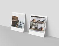 Realistic Polaroid Mockup Set