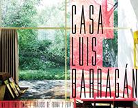 Luis Barragan, Casa estudio // Clase Analisis Forma