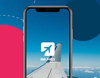 Airpass App | UI/UX, Branding