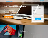 Recruit Web Page