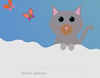 UI Animation - Incorrect password
