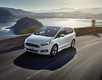 Pan-European press campaign - Ford S-Max