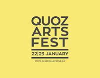 Quoz Arts Fest Branding & Event