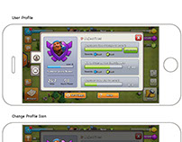 Clash of Clan UI Design