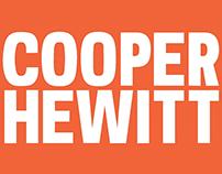 Cooper Hewitt - Type Specimen - Motion