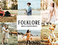 Free Folklore Mobile & Desktop Lightroom Presets