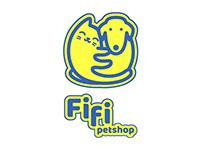 Fifi petshop logo design