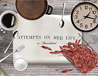 Attempts On Her Life | Scenography