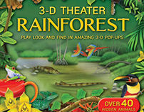 3D Theater Rainforest Book