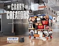 Samsonite - We Carry The World