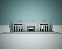 5 Hemispere White Domes