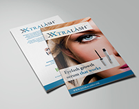 XXtralash Brochure design