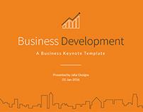 Business Development Keynote Template