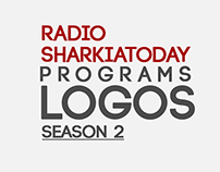 Radio Sharkiatoday Programs Logos - Season 2