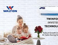 Social Media WaltonAir Conditioners
