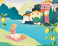Carrie May - One Summer in Italy