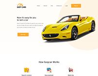 Car rent & purchase ui design
