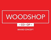 Woodshop Co-Op Brand Concept