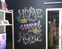 Chalkboard: Home Sweet Home