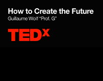 "TEDx talk: ""How to Create the Future"""