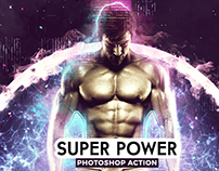 Super Power Photoshop Action