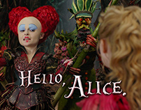 Alice Through the Looking Glass Quote Cards
