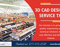 3d CAD Design Service TX | 8174732720 | dfwcad.com