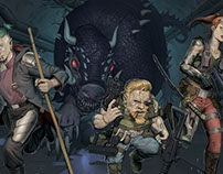 Shadowrun Art