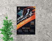 Gym Advertisement Flyer