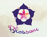 Blossom into Wholeness :: Logo Design