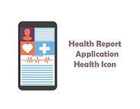 healt report aplication Health Icon
