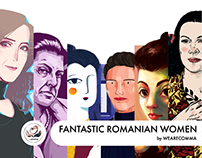 Fantastic Romanian Women Calendar Illustrations