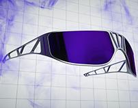 Cyberpunk sunglasses design